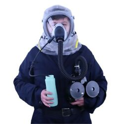 Supergum Protective Hood Mask W/ 90 Liter Blower And Two Filters Made In Israel