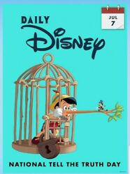 Digital Card Topps Daily Disney Collect July 7 National Tell The Truth Day