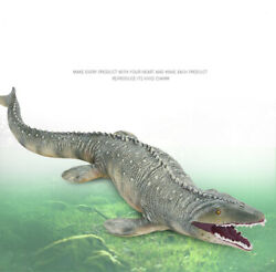 Jurassic Dinosaur Model Mosasaurus Figure 17.7quot; Big Size High Realistic Dino Toy $12.99
