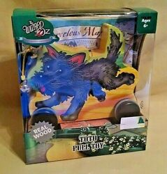 Wizard Of Oz Toto Toy Pull 75th Anniv New 2013 Forever Fun Real Wood Bell Dog.