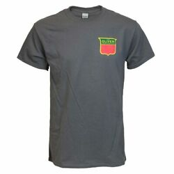 Oliver 77 Tractor Grill Charcoal Short Sleeve T-shirt