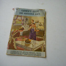 1938 Farmers Guide Household Hints With Recipes Book