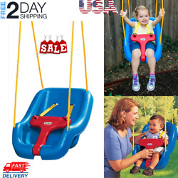 Outdoor Baby Swing Seat Toddler Swing Snug And Secure Detachable Baby Safety
