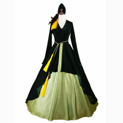 Scarlett Oand039hara Costume Gone With The Wind Southern Belle Halloween Gown Dressand。