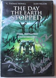 The Day the Earth Stopped Cast Signed Autographed DVD Cover Howell Hall GV907871