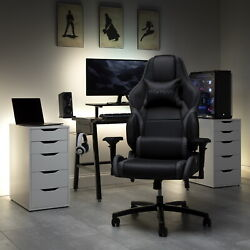 Respawn Racing Style Pc Gaming Chair Big And Tall Office Chair Wide Seat Xxl New