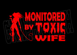 Toxic Wife Red