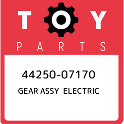 44250-07170 Toyota Gear Assy Electric 4425007170 New Genuine Oem Part