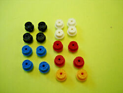 10 PAIR T JET LARGE H.O. SCALE REPRODUCTION PLASTIC RIMS ASSORTED COLORS SEE DET $12.99