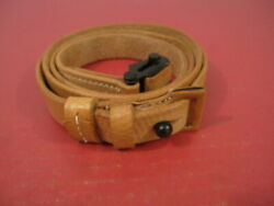 Wwii German Leather Sling K98 Mauser Rifle Dated 1943 - Reproduction