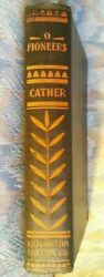 O Pioneers, Willa Sibert Cather, Very Early Edition