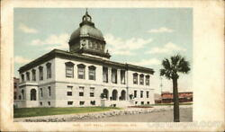 JacksonvilleFL City Hall Duval County Florida Detroit Photographic Co. Postcard