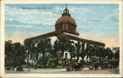 JacksonvilleFL City Hall Kropp Duval County Florida Antique Postcard Vintage