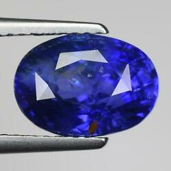 4.55 Cts Sparkling 100 Natural Fancy Blue Color Ceylon Sapphire For Jewelry