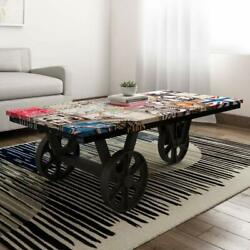 Indian Handmade French Style Cardiff Center Table Coffee Table Black