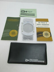 E6-b Flight Computer With Complete Instruction Manual And Cover