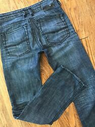 Buffalo David Bitton Driven Relaxed Fit Straight Leg Stretch Denim Jeans 28x32 $24.99