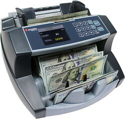 Business Grade Money Counting Machine With Uv Counterfeit Detection Bill Reader