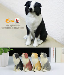 JJM 1 12 Border Collie Pet Dog Figure Canidae Animal Collector Toy Collect Gift