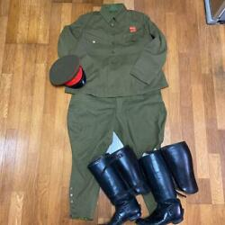 Ww2 Former Japanese Army Military Uniform 5 Set Free Shipping From Japan. Mh07