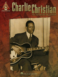 Charlie Christian The Definitive Collection Jazz Guitar Tab Sheet Music Book