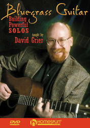 Bluegrass Guitar David Grier Lessons Learn How To Play Music Homespun Video Dvd