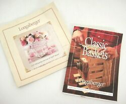 Longaberger Baskets Information Booklets Only For Horizon Of Hope And Small Loaf