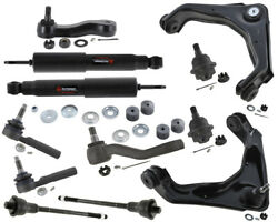 Gmc Yukon Xl 2500 Front Suspension Shock Absorber Upper Control Arms Rack Ends