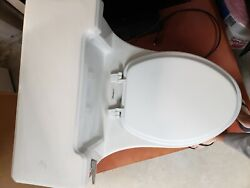 2 Vintage American Standard Toilets White, One Piece, No Chips 1947 And 1950