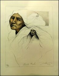 Frank Howellbrule Maiden 1993 Hand Signed Lithograph On Paper Make An Offer