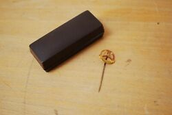 Collectable Mercedes Benz 200k Silver Pin 925 Mark Original Case West Germany