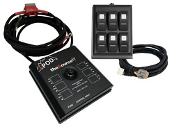 Spod Sourcelt On Ram Mount For Uni W/red Led Switch Panel W/36 Battery Cables