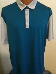 Ping Golf Sensor Cool Xtra Large Green w Gray Accents Polyester Short Sleeve Po $9.00