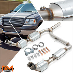 For 04-06 Ford F150/lincoln Mark Lt 5.4l 4wd Catalytic Converter Y-pipe Exhaust
