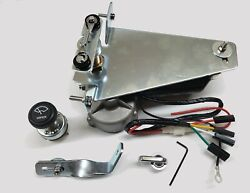 12v Wiper Motor Kit Replaces Original Vacuum Unit For 1947-1953 Chevy And Gm Truck