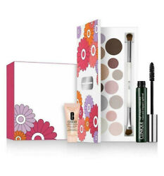 New Clinique Light Up Your Eye All About Shadow Palette High Impact Mascara Set