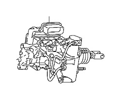 Toyota Prius V Brake Booster With Master Cylinder Fits Select 2014-2015