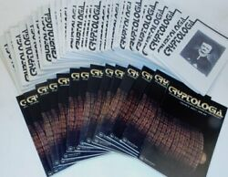 David Kahn / Cryptologia Quarterly Journal Devoted To Cryptology 46 Issues 1st