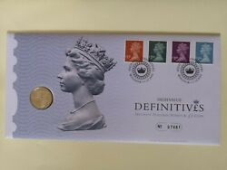 Gb 2009 Uk High Value Definitive Andpound1 Pound Pnc Coin Cover Qeii Unc Royal Mint