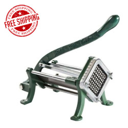 3 8quot; French Fry Cutter Potato Fries Slicer Dicer Chopper Commercial Restaurant $59.18