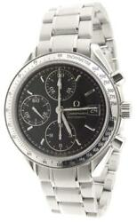Menand039s Omega Speedmaster Automatic Chronograph 39mm Stainless Steel Watch