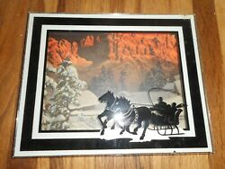 Vintage Opsall Kavanagh Dodge Plymouth Horse Wykoff Mn Advertising Silhouette