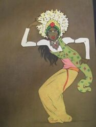 The Temples Dances In Bali By Tyra Kleen 75 Plates Stockholm 1936