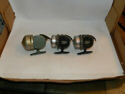 Vintage Shakespeare 1771 And 2 -1775 Wondercast Fishing Reels Usa Lot Of 3