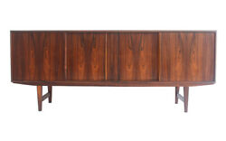 60s 1960s Retro Danish Bach Sejling Rosewood Sideboard Vintage Mid Century