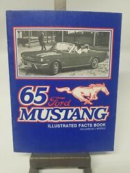 2 Illustrated Mustang Facts Books 1964 1/2 /65 And 1966 Ca Mustang Sales And Parts