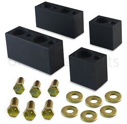 Front Driver Seat Spacer Lift Kit For Chevy Silverado + Gmc Sierra Trucks 14-19