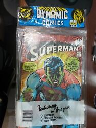 Superman 317 Extremely Rare Neal Adams Dc 3 Comic Sealed Multi-pack 1977 Nm