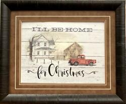 Billy Jacobs For Unto Us A Child Is Born Christmas Art Print Framed 23 X 19