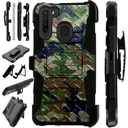 Luxguard For Samsung Galaxy A Series Phone Case Holster Cover Camo Gnbn Xh